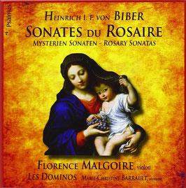 Heinrich Ignaz Franz Biber: Sonates du Rosaire (4CD, DVD, Psalmus)