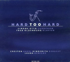 Hard too hard: Creston, Havel, Hindemith, Debussy, Lauba, Denisov (Musicom)
