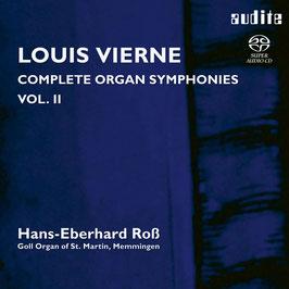 Louis Vierne: Complete Organ Symphonies Vol. 2 (SACD, Audite)