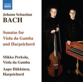 Johann Sebastian Bach: Sonatas for Viola da Gamba and Harpsichord (Naxos)