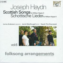 Franz Joseph Haydn: Scottish Songs for William Napier II (2CD, Brilliant)