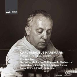 Karl Amadeus Hartmann: Simplicius Simplicissimus (2SACD, Challenge Classics)