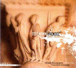 Georg Friedrich Händel: Dixit Dominus, Georg Philipp Telemann: Deus judicium tuum (Eloquentia)