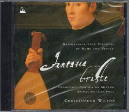 Fantasia de mon triste, Renaissance Lute Virtuosi of Rome and Venice: Da Milano, Spinacino, Capirola (Metronome)