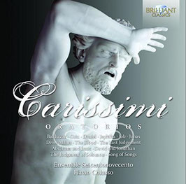 Giacomo Carissimi: Oratorios (9CD, Brilliant)