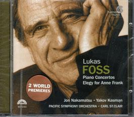 Lukas Foss: Piano Concerto, Elegy for Anne Frank (Harmonia Mundi)
