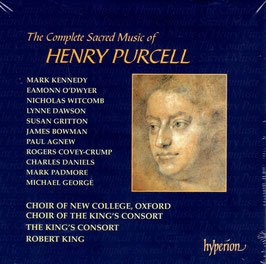 Henry Purcell: The Complete Sacred Music (11CD, Hyperion)