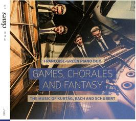 György Kurtág, Johann Sebastian Bach, Franz Schubert: Games, Chorales and Fantasy (Claves)