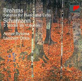Johannes Brahms: Sonatas for Piano and Cello, Robert Schumann: 5 Stücke im Volkston (Sony)