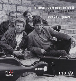 Ludwig van Beethoven: The String Quartets (7SACD, Praga)