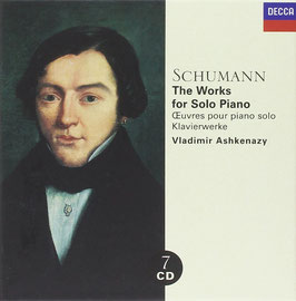 Robert Schumann: The Works for Solo Piano (7CD, Decca)