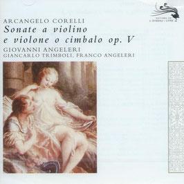 Arcangelo Corelli: Sonate a violino e violone o cimbalo op. V (2CD, L'Oiseau-Lyre)