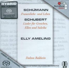 Robert Schumann: Frauenliebe- und Leben, Franz Schubert: Lieder für Gretchen, Ellen und Suleika (SACD, Pentatone)