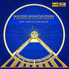 Johann Molter: Miniatur-Opern & Kammermusik vom Karlsruher Hof (Hänssler Profil)