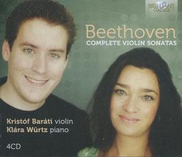 Ludwig van Beethoven: Complete Violin Sonatas (4CD, Brilliant)