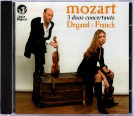 Wolfgang Amadeus Mozart: 3 Duos concertants (Ligia Digital)