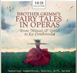 Brother Grimm's Fairy Tales in Operas (10CD, Documents)