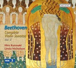 Ludwig van Beethoven: Complete Violin Sonatas Vol. 3 (Accent)