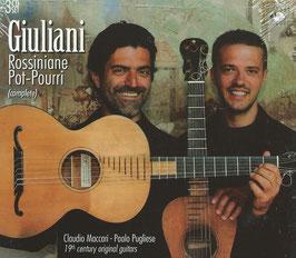 Mauro Giuliani: Rossiniane, Pot-Pourri complete (3CD, Brilliant)