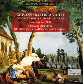 Giovanni Battista Viotti: Complete Violin Concertos vol. 10 (Dynamic)