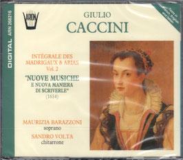 Giulio Caccini: Nuove Musiche e Nuove Maniera de Scriverle 1614 (2CD, Arion)