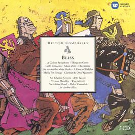 Arthur Bliss: British Composers (5CD, EMI)