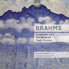 Johannes Brahms: Symphonies 3 & 4, Alto Rhapsody, Tragic Overture (2CD, Virgin Classics)