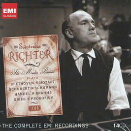 Sviatoslav Richter, The Master Pianist, The Complete EMI Recordings (14CD, EMI)