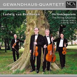 Ludwig van Beethoven: Die Streichquartette op. 18/1, op. 18/2 (NCA Classical)
