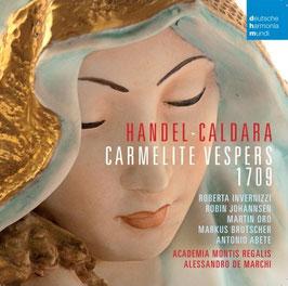 Georg Friedrich Händel, Antonio Caldara: Carmelite Vespers 1709 (2CD, Deutsche Harmonia Mundi)