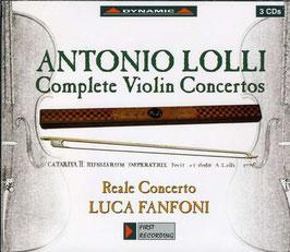 Antonio Lolli: Complete Violin Concertos (3CD, Dynamic)