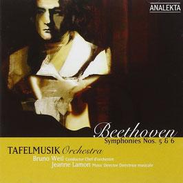 Ludwig van Beethoven: Symphonies Nos. 5 & 6 (Analekta)
