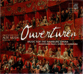 Ouvertüres, Music for the Hamburg Opera (Harmonia Mundi)