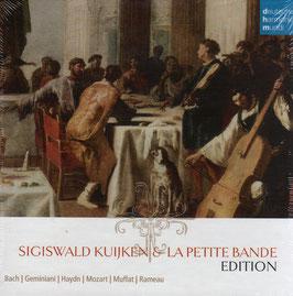 Sigiswald Kuijken & La Petite Bande Edition (10CD, Deutsche Harmonia Mundi)