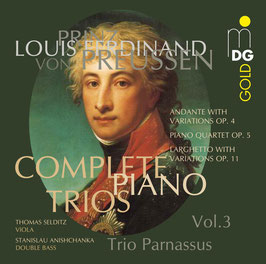 Prinz Louis Ferdinand von Preussen: Complete Piano Trios Vol. 3 (MDG)