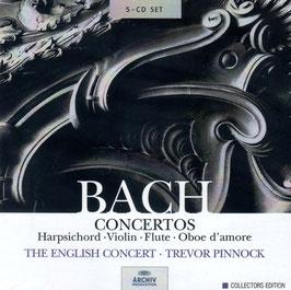 Johann Sebastian Bach: Concertos (5CD, Archiv)