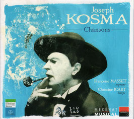 Joseph Kosma: Chansons (CD+DVD, ZigZag)