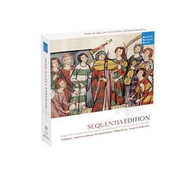 Sequentia Edition: Troubadours, Heinrich von Meissen, Philippe de Vitry, Oswald von Wolkenstein (10CD, Deutsche Harmonia Mundi)
