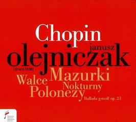 Frédéric Chopin: Mazurki, Walce, Nokturny, Polonezy, Ballada g-moll op. 23 (NIFC)