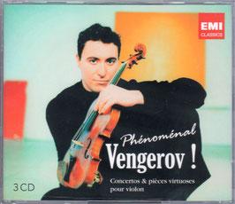 Vengerov! Concertos & pièces virtuoses pour violon (3CD, EMI)