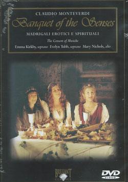 Claudio Monteverdi: Madrigali Erotici e Spirituale (DVD, Brilliant)