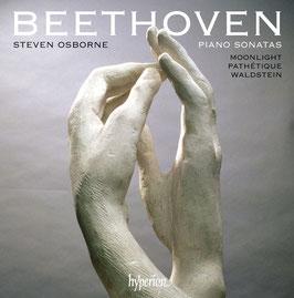 Ludwig van Beethoven: Piano Sonatas Moonlight, Pathétique, Waldstein (Hyperion)