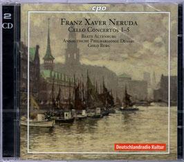 Franz Xaver Neruda: Cello Concerto 1-5 (2CD, CPO)