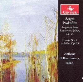 Sergei Prokofiev: 10 pieces from Romeo and Juliet, Sonata No. 7 in B flat (Centaur)