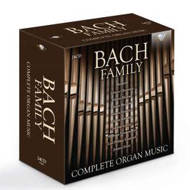 Johann Sebastian Bach, Carl Philipp Emanuel Bach, Wilhelm Friedemann Bach, Johann Christoph Bach, Johann Michael Bach, Bach Family: Complete Organ Music, Volume 3 (24CD, Brilliant)