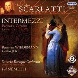 Alessandro Scarlatti: Intermezzi (Hungaroton)