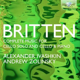 Benjamin Britten: Complete Music for Cello solo and Cello & Piano (2CD, Brilliant)