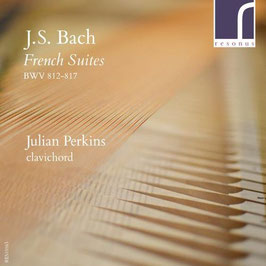 Johann Sebastian Bach: French Suites BWV 812-817 on clavichord (2CD, Resonus)