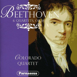 Ludwig van Beethoven: 6 Quartets, Op. 18 (2CD, Parnassus)