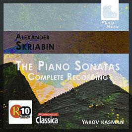 Alexander Scriabin: The Piano Sonatas, Complete Recording (3CD, Phaia Music)
